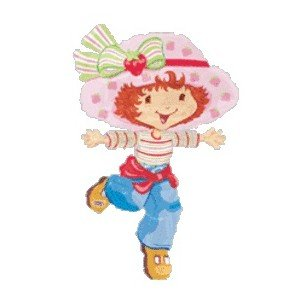 "Strawberry Shortcake Jumbo 23"" Mylar Balloon"