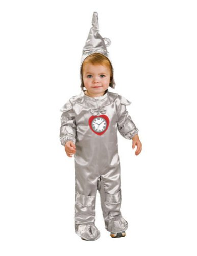 0-6 Months - Tin Man Newborn Baby Costume