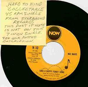 Miz Davis Sing A Happy Funky Song