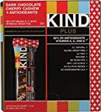 Kind Plus Antioxidant Bars Dark Chocolate Cherry Cashew -- 12 Bars