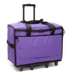 """BlueFig TB23IM Wheeled Travel Bag 23"""" in Purple"""