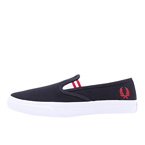 Fred Perry Turner Slip On Heavy Canvas Navy 39