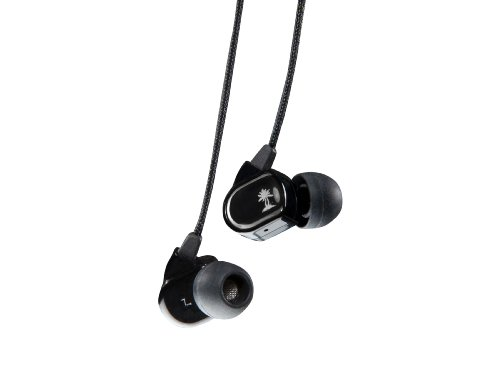 Turtle Beach Ear Force M1 Silver Mobile Gaming Earbuds W/In-Line Mic