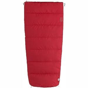 Marmot Kid's Mavericks 40 Semi Rec Synthetic Sleeping Bag, Regular 5-Foot/Left, Red