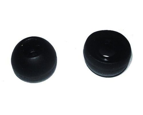 2 Soft Black Ear Buds For Emerson Em227 Em228 Wm Em-277 Em-228 Headset Ear Gels Tips Stabilizers Eargels Earbuds Eartips Earstabilizers Replacement