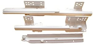 "Blum Solo Concealed Undermount Slides For 21"" Drawers 3/4 Extension 100# Class Cream (Inset)"