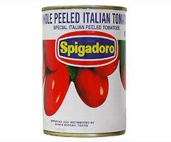 Spigadoro スピガドーロ イタリアントマト缶 ホールトマト400g×24個