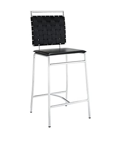 Modway Fuse Counter Stool, Black