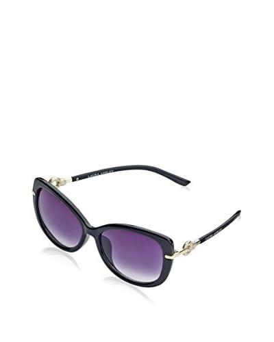 Laura Ashley Women's LA1105 Sunglasses, Black