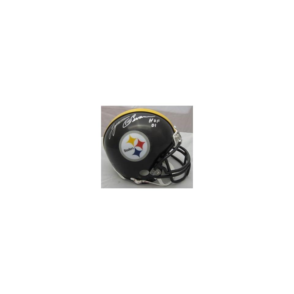 Lynn Swann Autographed Pittsburgh Steelers Mini Helmet w
