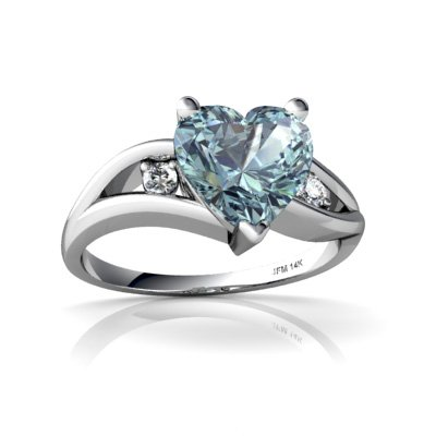 bague or blanc taille 49
