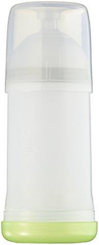 Adiri NxGen Stage 1 Nurser Slow Flow Baby Bottle, White, 3-6 Months