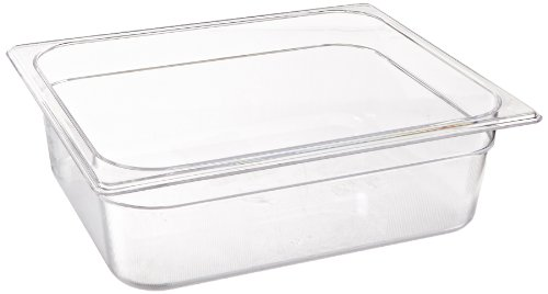 Rubbermaid Commercial Products 1/2 Size 7-7/8-Quart Cold Food Pan (FG124P00CLR) (Restaurant Cold Food Pan compare prices)