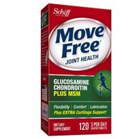 Move Free Joint Health, Glucosamine Chondroitin Advanced Plus MSM, Dietary Supplement, 1500 mg