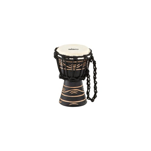 NINO African Style Rope Tuned Djembe 4 1 2-Inch XX Small Moon Rhythm SeriesB001D4KWP0