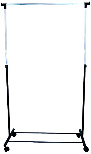 MSV 224 über Rollen, gerade, verchromter Stahl/Polypropylen, Schwarz, 100 x 43 x 101 cm jetzt kaufen