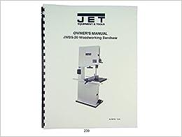 jet jwbs 20 woodworking band saw operators parts list. Black Bedroom Furniture Sets. Home Design Ideas