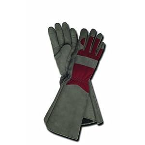 Magid TE195T-M Terra Collection Professional Rose Gardening Gloves - Womens Medium