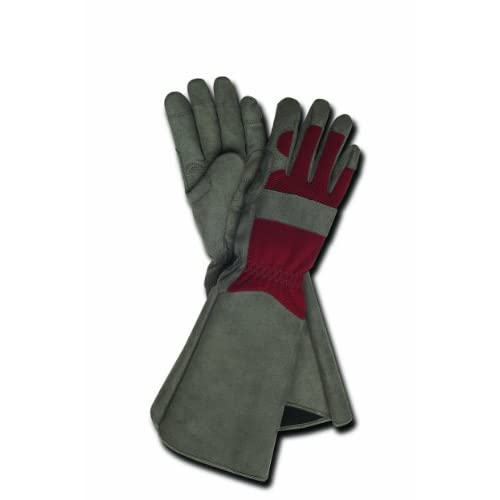 Magid TE195T-M Terra Collection Professional Rose Gardening Gloves - Womens Medium