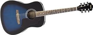 Ibanez SGT120 Sage Series Acoustic Guitar (Trans Blue Sunburst)