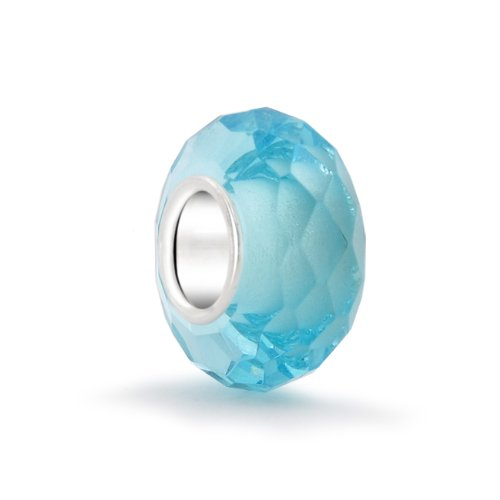 Bling Jewelry Sterling Birthstone Aquamarine