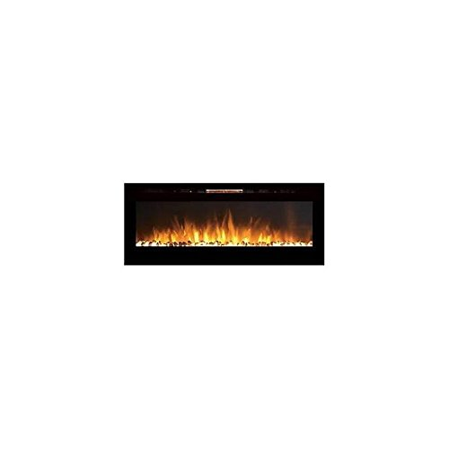 Gibson Living GL2060WS Reno 60 Inch Pebble Built-In Recessed Wall Mounted Electric Fireplace (Automatic Ethanol Fireplace compare prices)