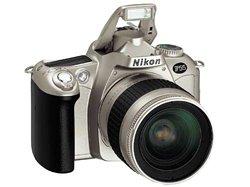 Nikon F55 with 28-100 Lens