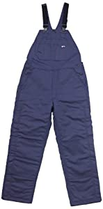 LAPCO BIFRNYDK-4XL RG 12-Ounce Duck Flame Resistant Insulated Bib Overall, Navy by LAPCO