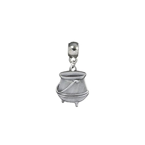 Official Harry Potter Silver Plated Witches Potion Cauldron Slider Charm