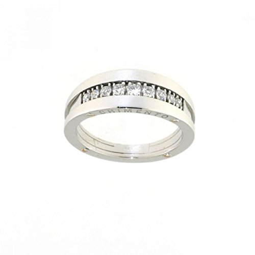 Anello Chimento Donna 1a08349bb5140 Oro Bianco Diamante