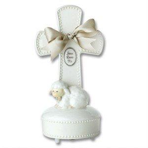 """Jesus Loves Me"" Musical Cross/BAPTISM/CHRISTENING/NEWBORN/INSPIRATIONAL/BABY SHOWER"