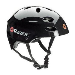 Razor V-17 Adult Multi-Sport Helmet (Black)