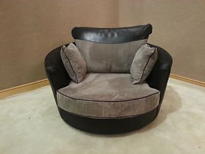 online sofa wholesale kudos black and grey fabric swivel. Black Bedroom Furniture Sets. Home Design Ideas