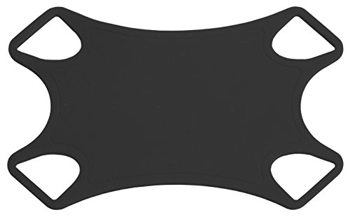 Handstands BackStrap Universal Tablet Case, Tether, and Protector- Compatible with iPad Mini, Microsoft Surface, Samsung Tab and more. - Black