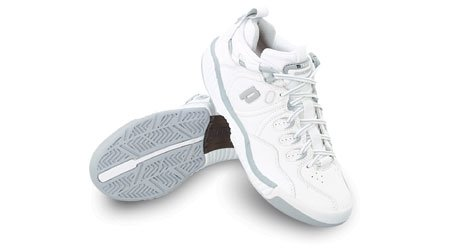 Buy Prince Quiktrac Ti 1.0 Low (Womens) White/Light Grey