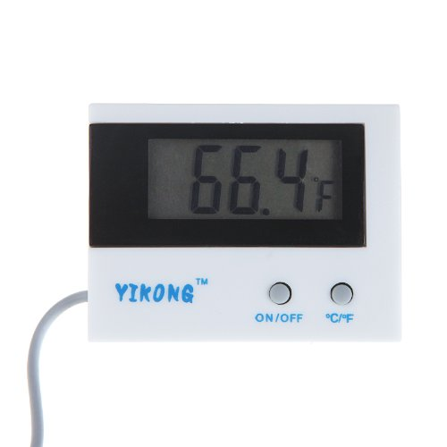 Docooler Indoor/Outdoor Mini Lcd Display Digital Thermometer C/F Switch St-1A