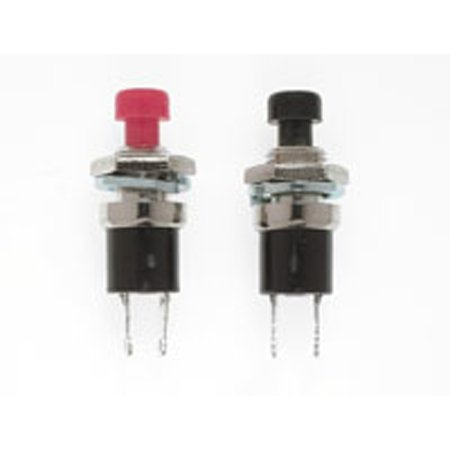 SPST Momentary Switch, N/O 1/4