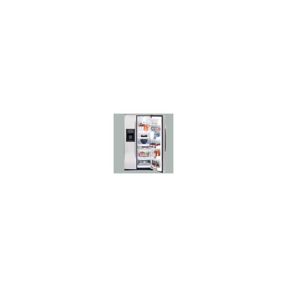 Stainless Steel Profile Arctica Energy Star 25.5 cu. ft. Side by Side Refrigerator with Thru the Door Ice and Water