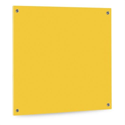 K chenr ckwand aus glas esg motiv gelb format 50 x for Wandschutz hinter herd