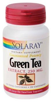 Solaray - Green Tea Extract, 250 mg, 30 capsules (Solaray Green Tea Extract compare prices)