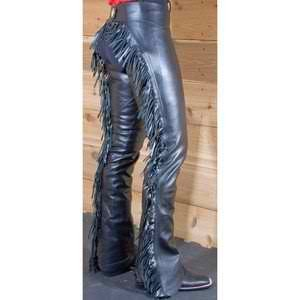 Super Smooth Leather Chaps Western Show Chaps- Sand-X-large