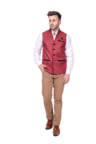 Lee Marc Jute Men's Brown Blazer(LEMC15_40)  available at amazon for Rs.850