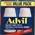 Advil Twin Pack 100+100 200 tabs