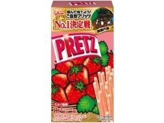 27.5g2 10 boxes of Glico Pretz strawberry milk flavor Aji-bako...