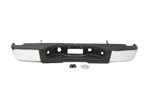 Rear Step Bumper Chrome W/O Hole 2007-2012 Chevy Silverado Gmc Sierra 1500 New front-1067782