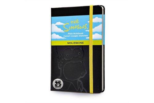 the-simpsons-notebook-plain-black