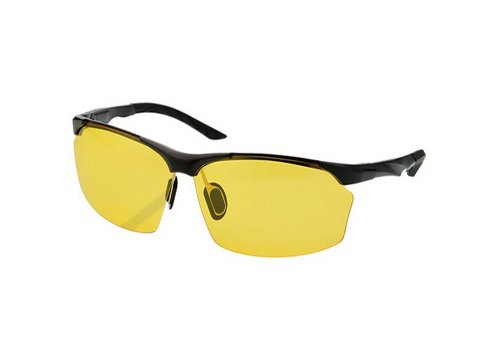 Sports Polarized Sunglasses, Aluminum Magnesium Chauffeur-Driven Mirror, Polarized Night Vision Glasses.