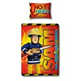 Fireman Sam Duvet Cover and Pillowcase 'Hero' Design Bedding