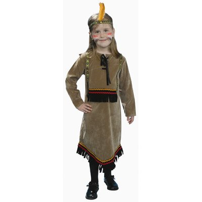 Deluxe Indian Girl Costume Set