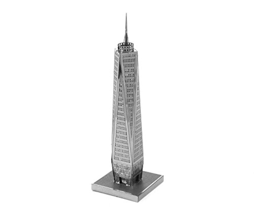 Fascinations Metal Earth One World Trade Center Building 3D Metal Model Kit (New York Model compare prices)